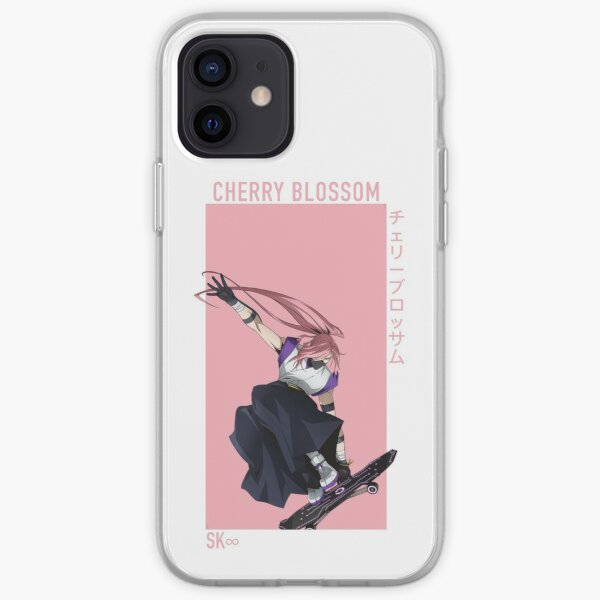 Cherry Blossom iPhone Soft Case RB01705 product Offical SK8 The Infinity Merch