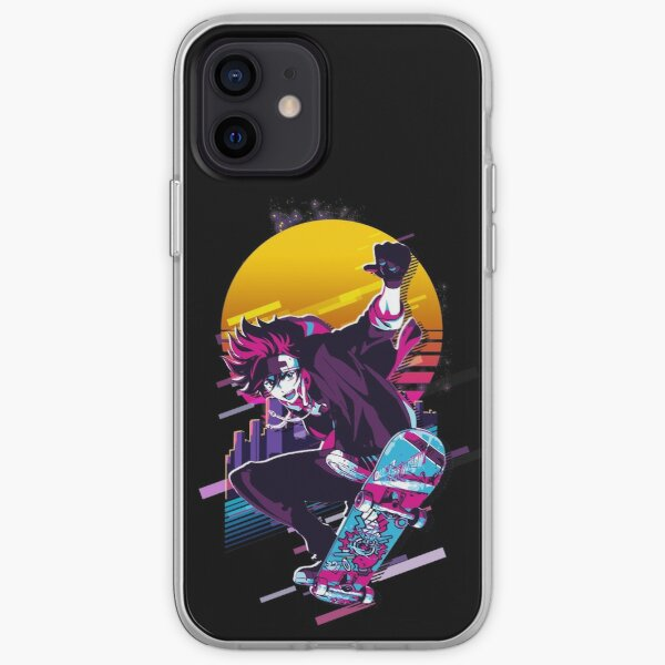 SK8 the Infinity - Reki *80s retro* iPhone Soft Case RB01705 product Offical SK8 The Infinity Merch