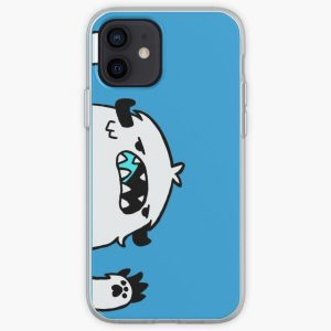 Langa Snowman iPhone Soft Case RB01705 product Offical SK8 The Infinity Merch