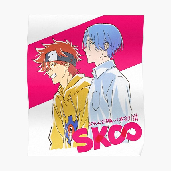 SK8 The Infinity Reki & Langa Poster RB01705 product Offical SK8 The Infinity Merch