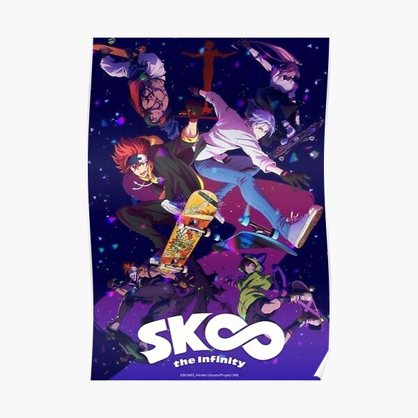 Sk8 the infinity Poster RB01705 product Offical SK8 The Infinity Merch