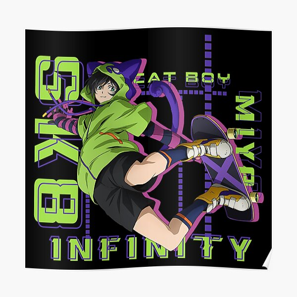 sk8 the infinity - miya - anime Poster RB01705 product Offical SK8 The Infinity Merch