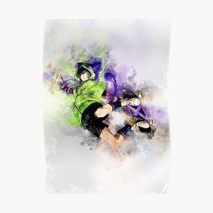 SK8 the Infinity - Miya *watercolor* Poster RB01705 product Offical SK8 The Infinity Merch