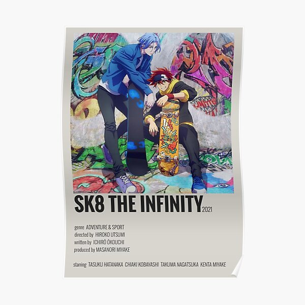 Sk8 the infinity minimalist poster Poster RB01705 product Offical SK8 The Infinity Merch