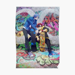 SK8 The Infinity Reki & Ranga Poster RB01705 product Offical SK8 The Infinity Merch