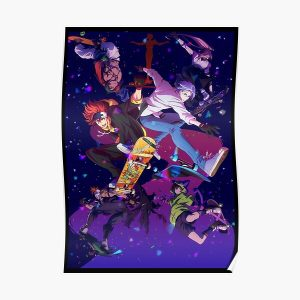 SK8 The Infinity Characters Poster RB01705 product Offical SK8 The Infinity Merch