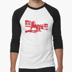 Peggy Oki Baseball ¾ Sleeve T-Shirt RB01705 product Offical SK8 The Infinity Merch