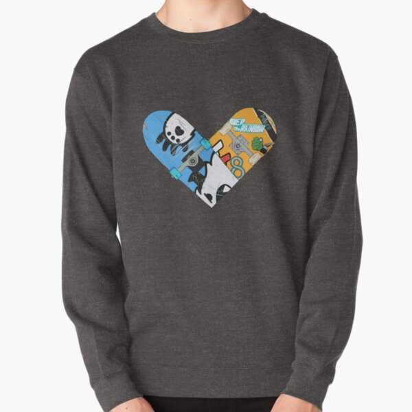 Renga Skateboard Heart 2 Pullover Sweatshirt RB01705 product Offical SK8 The Infinity Merch