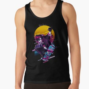 SK8 the Infinity - Reki *80s retro* Tank Top RB01705 product Offical SK8 The Infinity Merch