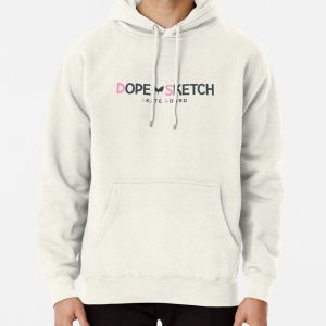 Dope Sketch Pullover Hoodie RB01705 product Offical SK8 The Infinity Merch