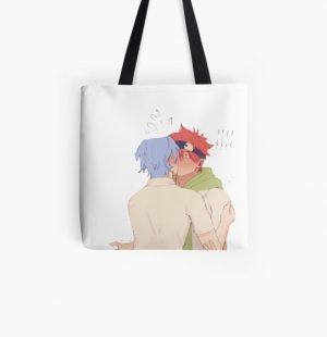 Sk8 the infinity Reki and Langa kissing All Over Print Tote Bag RB01705 product Offical SK8 The Infinity Merch