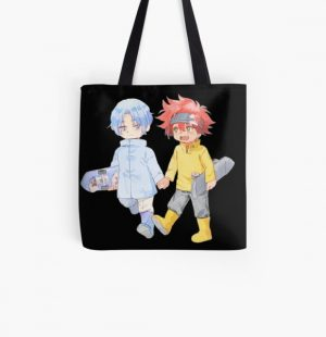 Langa and Reki young All Over Print Tote Bag RB01705 product Offical SK8 The Infinity Merch