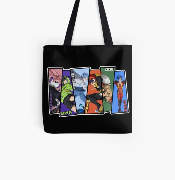 sk8 the infinity characters  All Over Print Tote Bag RB01705 product Offical SK8 The Infinity Merch