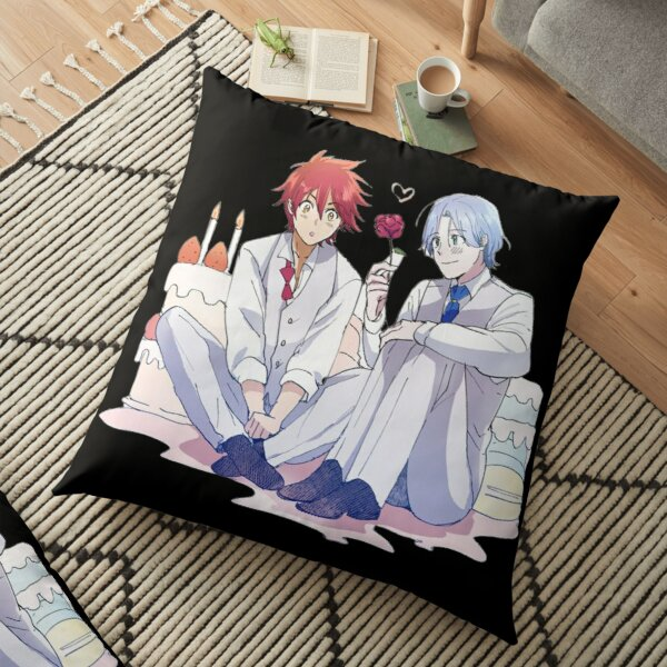 Reki and Langa birthday Floor Pillow RB01705 product Offical SK8 The Infinity Merch
