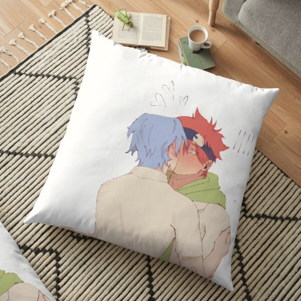 Sk8 the infinity Reki and Langa kissing Floor Pillow RB01705 product Offical SK8 The Infinity Merch