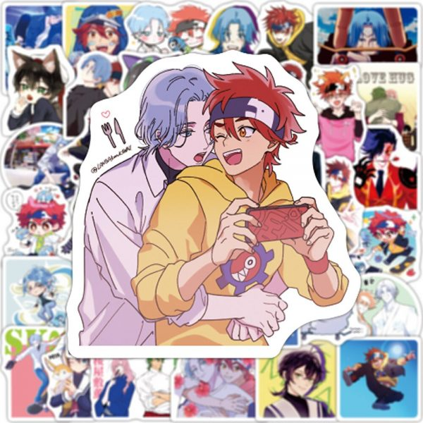 10 30 50 100pcs SK8 the Infinity Anime Anime Cartoon Graffiti Stickers Laptop Luggage Car Phone 2 - SK8 The Infinity Store