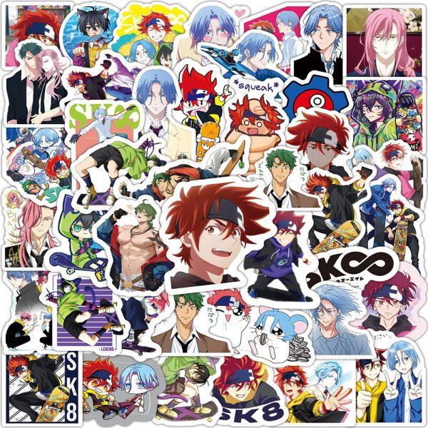10 30 50PCS Anime SK8 the Infinity Cartoon Graffiti Stickers Travel Luggage Guitar Fridge Laptop DIY - SK8 The Infinity Store
