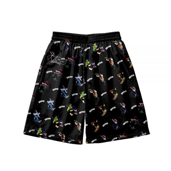 2021 3D Print sk8 the infinity Shorts Trunks New Quick Dry Beach Swiming Shorts Hip Hop 4 - SK8 The Infinity Store