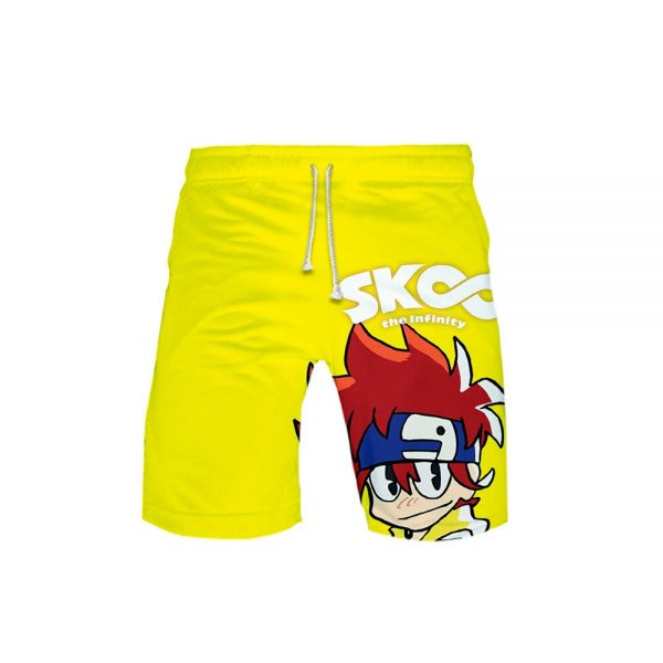 2021 New Arrival 3D Print sk8 the infinity Shorts Trunks New Quick Dry Beach Swiming Shorts 1 - SK8 The Infinity Store