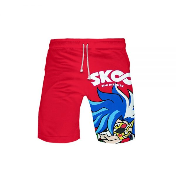 2021 New Arrival 3D Print sk8 the infinity Shorts Trunks New Quick Dry Beach Swiming Shorts 3 - SK8 The Infinity Store
