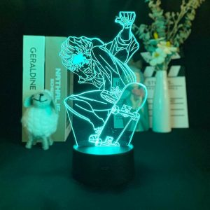 3D Picture Lamp SK8 The Infinity Projection Lamp 3D Night Light Alarm Clock Base Japanese Anime - SK8 The Infinity Store