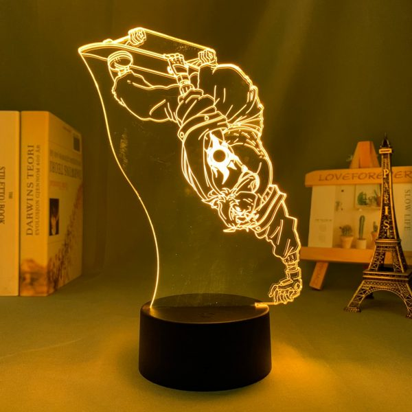 3d Led Night Lamp Anime SK8 The Infinity Joe for Bedroom Decor Nightlight Kid Brithday Gift 2 - SK8 The Infinity Store