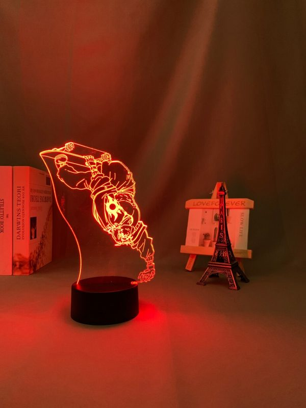 3d Led Night Lamp Anime SK8 The Infinity Joe for Bedroom Decor Nightlight Kid Brithday Gift 3 - SK8 The Infinity Store