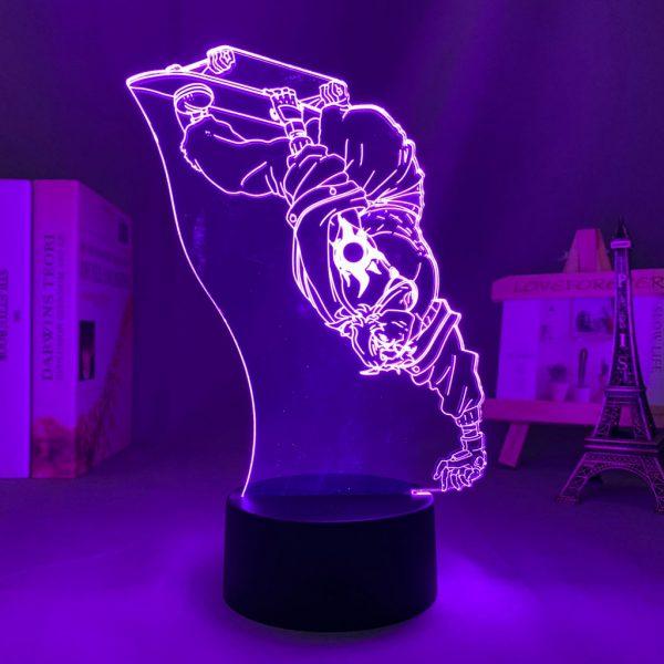 3d Led Night Lamp Anime SK8 The Infinity Joe for Bedroom Decor Nightlight Kid Brithday Gift - SK8 The Infinity Store