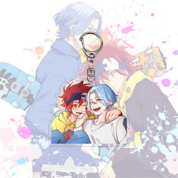 Anime Keychain SK SK8 The Infinity Reki Kyan Miya Langa Cherry Blossom Cosplay Cartoon Costume Props 1 - SK8 The Infinity Store