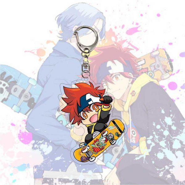 Anime Keychain SK SK8 The Infinity Reki Kyan Miya Langa Cherry Blossom Cosplay Cartoon Costume Props 2 - SK8 The Infinity Store