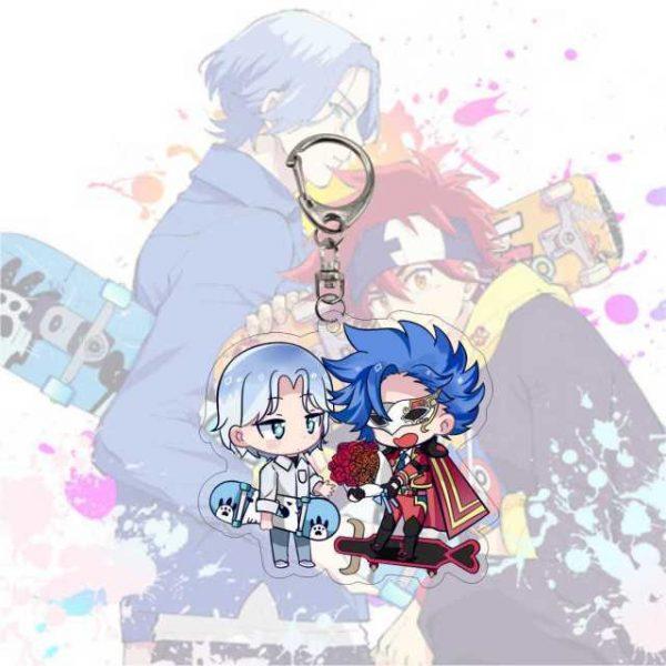 Anime Keychain SK SK8 The Infinity Reki Kyan Miya Langa Cherry Blossom Cosplay Cartoon Costume Props 3.jpg 640x640 3 - SK8 The Infinity Store