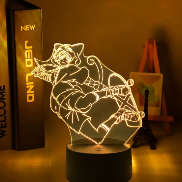 Anime Led Night Light SK8 The Infinity Miya for Bedroom Decor Nightlight Kids Brithday Gift Manga - SK8 The Infinity Store