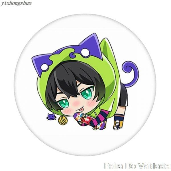 Anime SK SK8 the Infinity Reki Kyan Miya Langa Cosplay Cartoon Costume Props Metal Badge Pin 14.jpg 640x640 14 - SK8 The Infinity Store