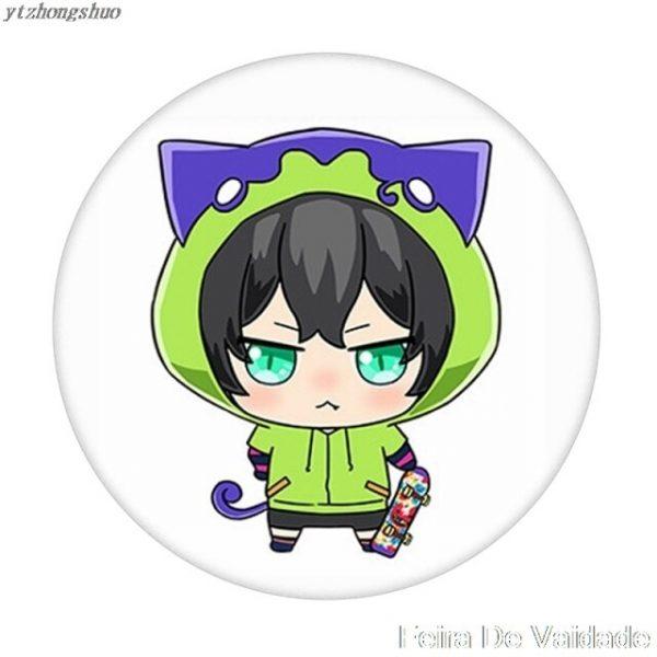 Anime SK SK8 the Infinity Reki Kyan Miya Langa Cosplay Cartoon Costume Props Metal Badge Pin 2.jpg 640x640 2 - SK8 The Infinity Store