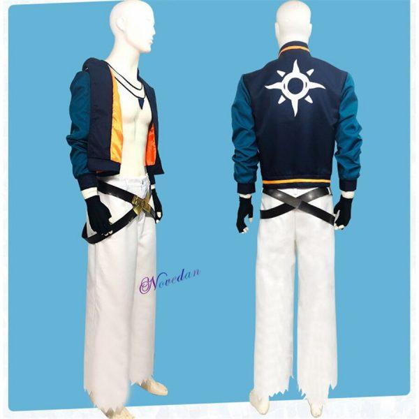 Anime SK8 The Infinity Joe Kojirou Nanjou Cosplay Costume Full Set Jacket Belt Necklace Wig Party 2 - SK8 The Infinity Store