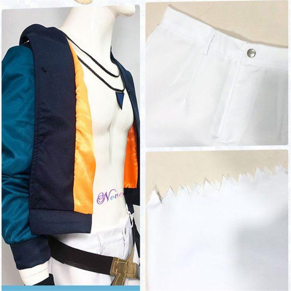 Anime SK8 The Infinity Joe Kojirou Nanjou Cosplay Costume Full Set Jacket Belt Necklace Wig Party 3 - SK8 The Infinity Store