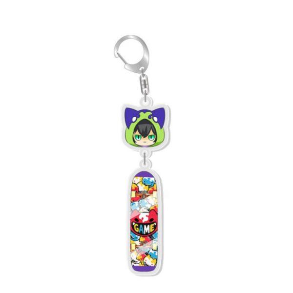 Anime SK8 The Infinity MIYA Keychains Cosplay Cartoon Props Accessories Langa Hasegawa Badge 1.jpg 640x640 1 - SK8 The Infinity Store