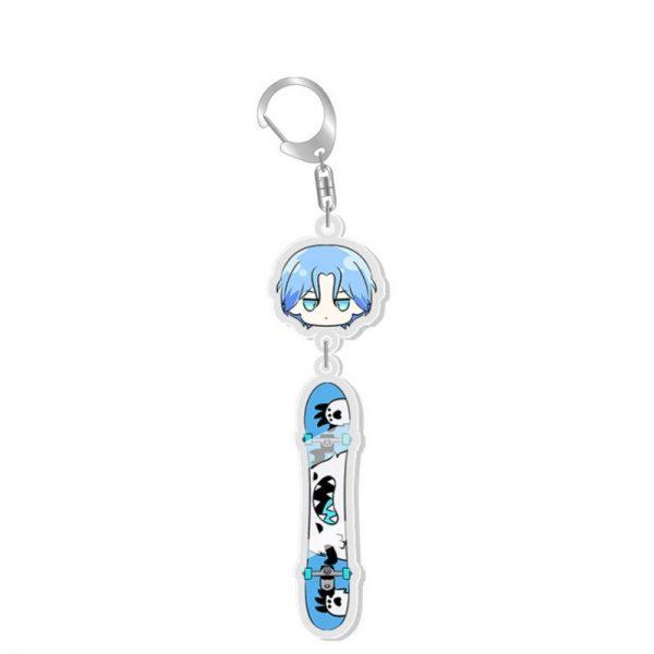 Anime SK8 The Infinity MIYA Keychains Cosplay Cartoon Props Accessories Langa Hasegawa Badge 2 - SK8 The Infinity Store