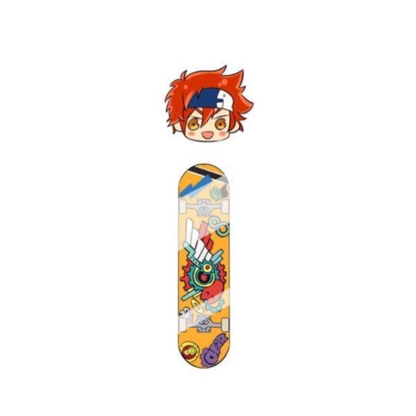 Anime SK8 The Infinity MIYA Keychains Cosplay Cartoon Props Accessories Langa Hasegawa - SK8 The Infinity Store
