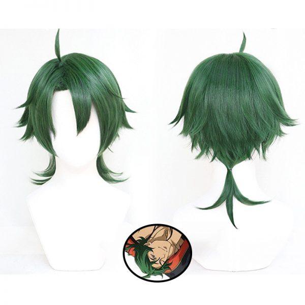 Anime SK8 the Infinity Joe Cosplay Wig SK Green Short Wig Heat resistant Fiber Hair Wig - SK8 The Infinity Store