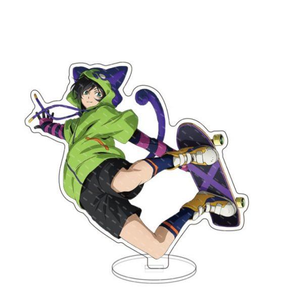 New Anime SK8 the Infinity Figure Cosplay Reki Snow Miya Cheery Blossom Acrylic Stands Model Desk 1.jpg 640x640 1 - SK8 The Infinity Store