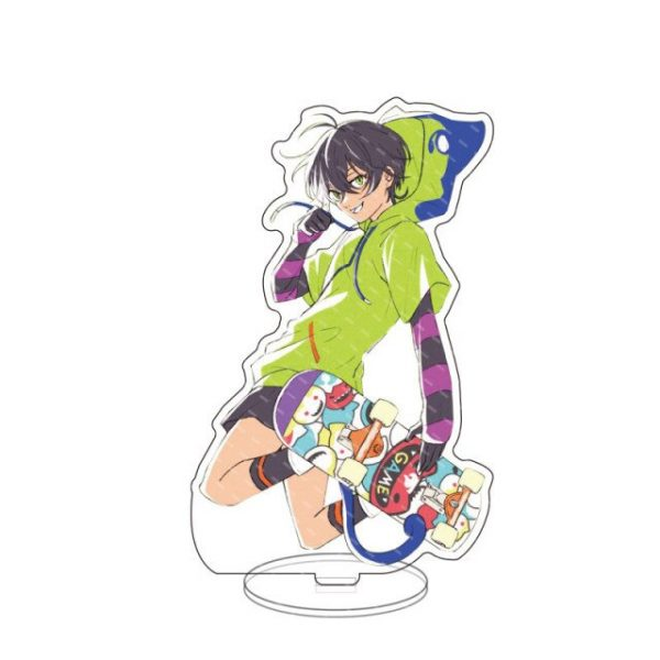 New Anime SK8 the Infinity Figure Cosplay Reki Snow Miya Cheery Blossom Acrylic Stands Model Desk 5.jpg 640x640 5 - SK8 The Infinity Store