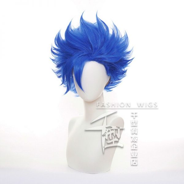 SK8 the Infinity Shindo Ainosuke Blue Short Wig Cosplay Costume SK Eight Heat Resistant Synthetic Hair 1 - SK8 The Infinity Store