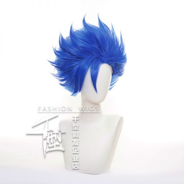 SK8 the Infinity Shindo Ainosuke Blue Short Wig Cosplay Costume SK Eight Heat Resistant Synthetic Hair 2 - SK8 The Infinity Store
