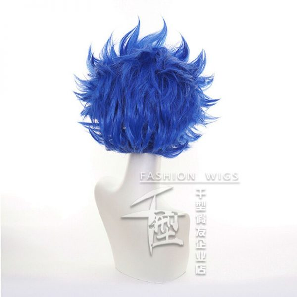 SK8 the Infinity Shindo Ainosuke Blue Short Wig Cosplay Costume SK Eight Heat Resistant Synthetic Hair 3 - SK8 The Infinity Store