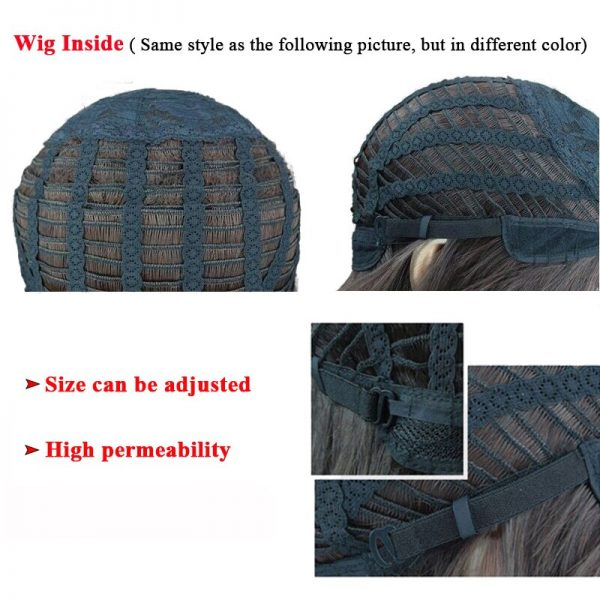 SK8 the Infinity Shindo Ainosuke Blue Short Wig Cosplay Costume SK Eight Heat Resistant Synthetic Hair 4 - SK8 The Infinity Store