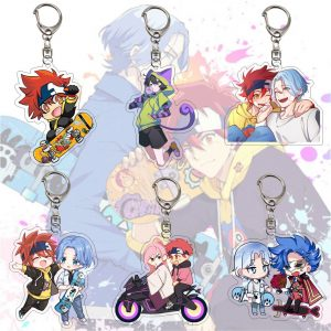 New Arrival SK8 The Infinity Q Version Keyring Reki Kyan MIYA Langa Hasegawa Cherry Blossom Anime - SK8 The Infinity Store
