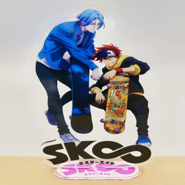 SK SK8 the Infinity Stand Model Keychain Reki Kyan Langa Hasegawa Anime Figure Acrylic Standing Plate 1.jpg 640x640 1 - SK8 The Infinity Store